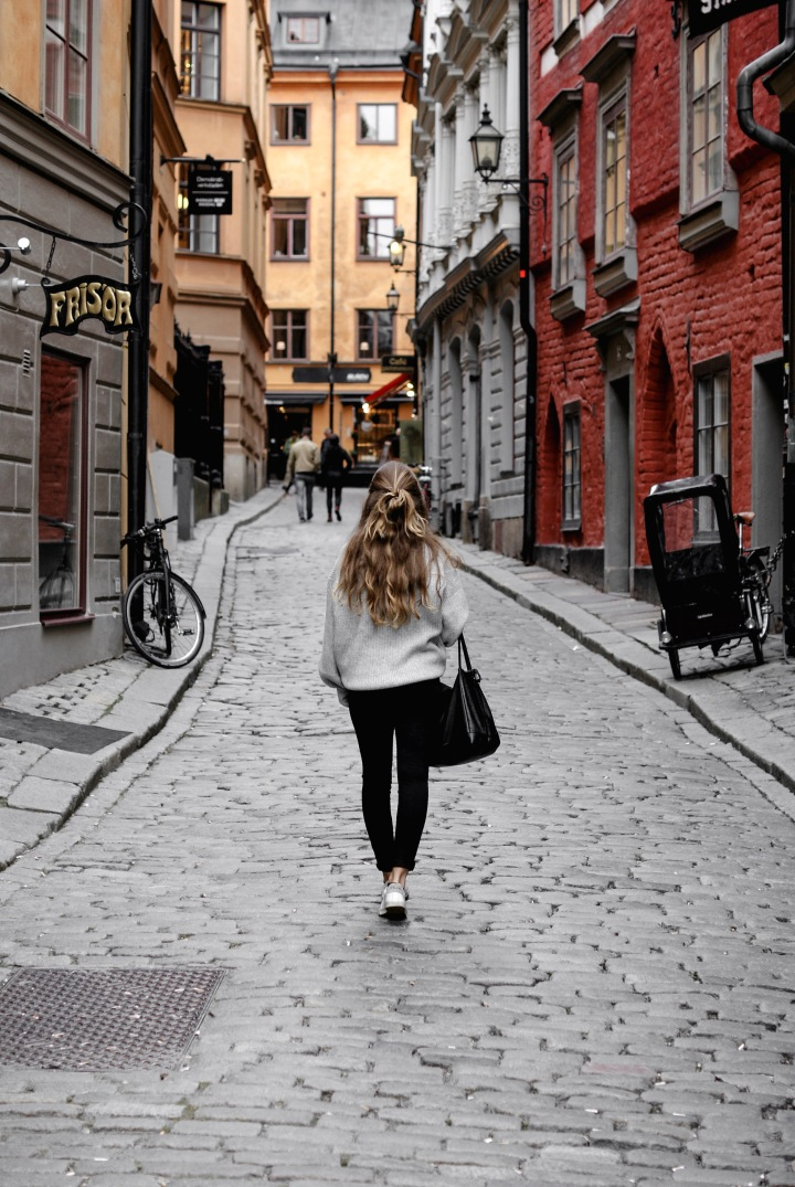 OLD TOWN IN STOCKHOLM &FIKA